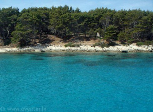 Secluded cove on island Hvar