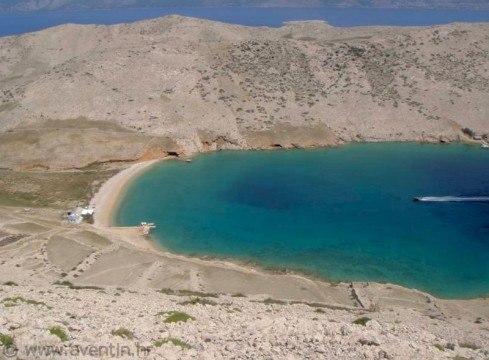 Baia Vela Luka sull'isola di Krk (Veglia)